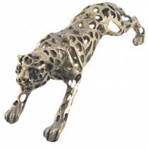 Hollow Running Leopard - 46cm