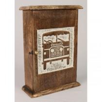 4x4 Front View Key Box