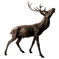 Stag Bronze Sculpture