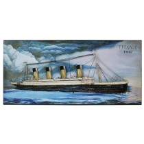 3D Titanic Wall Art