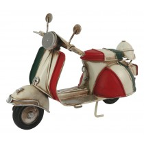 Red White & Green Scooter