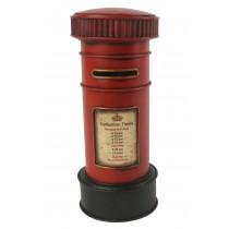 Red Post Box 27cm Money Box