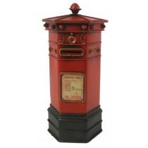 Red Post Box 29cm Money Box