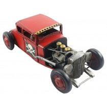 Red Hot Rod Car - 32cm