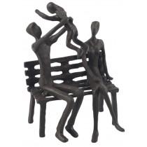 Family Fun Metal Figurine 16cm