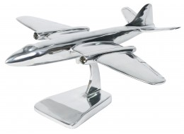 Aluminium Canberra Aeroplane 38cm