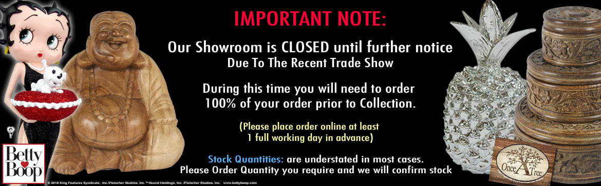 Showroom Closed after show