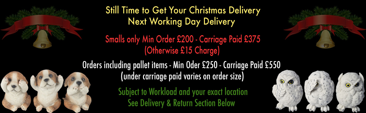 £200 Carriage Paid Christmas Delivery