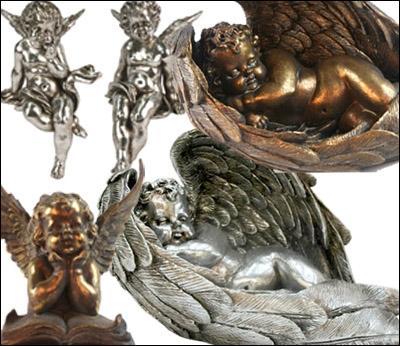 Resin Cherubs / Wings