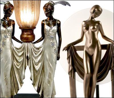 Art Deco Resin Lighting & Access