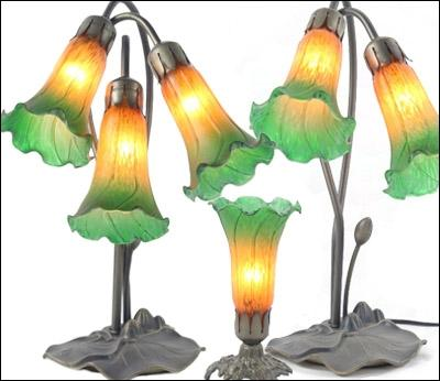 Lily Style Glass Lighting