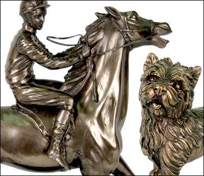 Resin Bronze / Pewter Finish