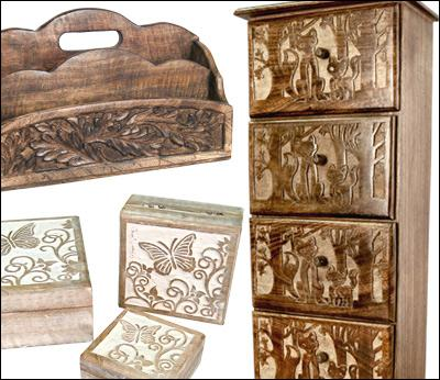 Wooden Home Accessories