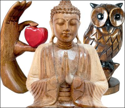 Once A Tree - Wood Carvings