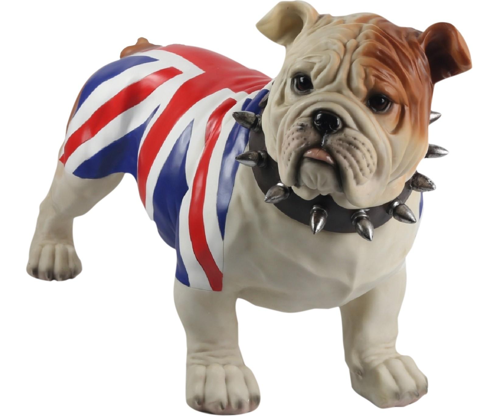 Bulldog Standing (Union Jack) 54.5cm