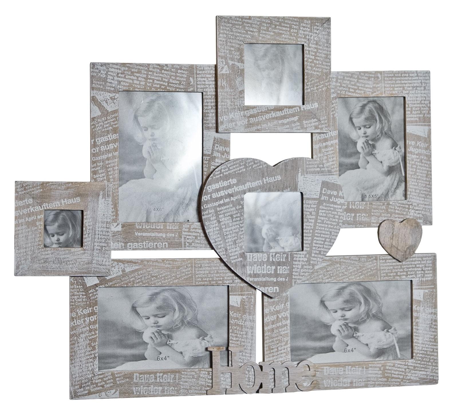 Journal 7 Multi Wall Photo Frame
