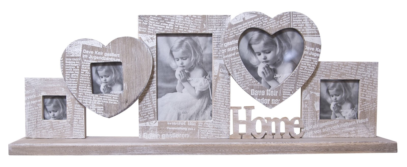 Journal Multi Photo Frame