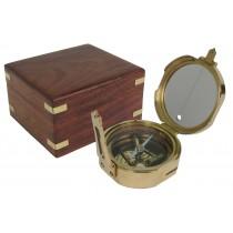 Brunton Compass With Box 11.5cm
