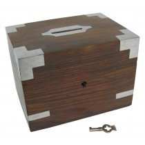 Money Box with Key 14cm