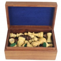 Chess Pieces in Box 20.4cm