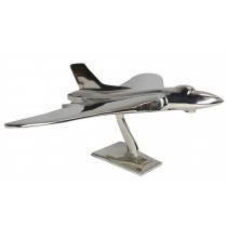 Large Jet Vulcan Aeroplane Aluminium - 43cm