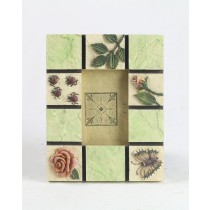 Photo Frame - Flower / Beetle **In  Addition to a Carriage Paid Order  **