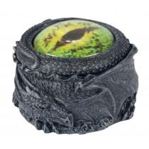 Dragon Round Green Eye Box