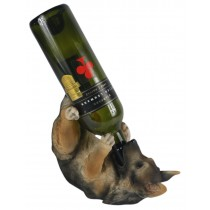 German Shepherd Wine Holder - 25cm