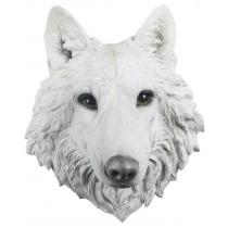 White Wolf Head Wall Art 46.5cm