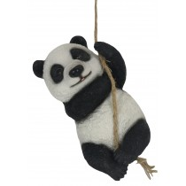 Climbing Panda On Rope 24.5cm