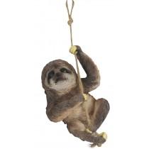 Climbing Sloth On Rope 30cm