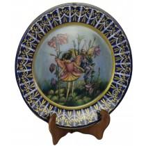 Fairy Plaque Blue 35cm
