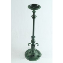 Candle Stick - Green Cold Finish 41cm