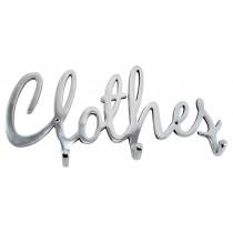 Aluminium Clothes Wall 3 Hooks