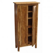 Acacia CD Cabinet (Light Stain)