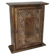 Mango Wood Celtic Design Key Box