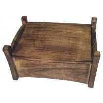 Mango Wood Plain Jewellery Box