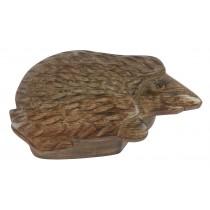 Mango Wood Hedgehog Box
