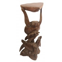 Wooden Turtle Stand - COLLECTION ONLY