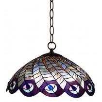 Hanging Shade Peacock 40.64cm