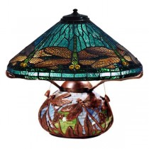 Dragonfly Tiffany Table Lamp 35.5cm