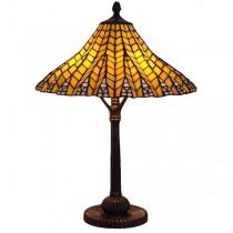 Pyramid Tiffany Style Table Lamp 61cm