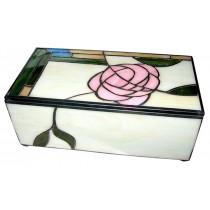 Mackintosh Style Tiffany Jewellery Box