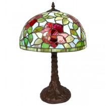 Rose Tiffany Table Lamp 46cm
