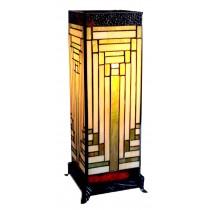 Art Deco Square Lamp (Large) 47cm