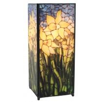 Daffodil Square Lamp Screen Printed - 27cm
