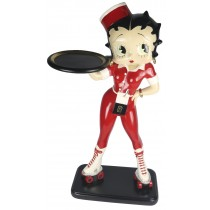 Betty Boop Rollerskate Waitress 3ft