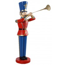 Toy Soldier with Trumpet 6ft **SECONDS**