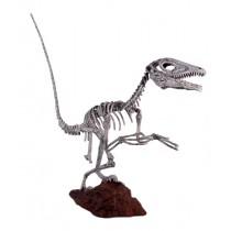 Deinonychus Skeleton - Roman Stone Finish 197cm