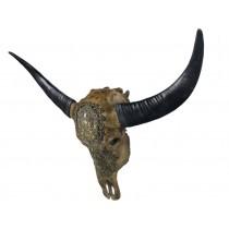 Bull Skull Ganesh Wall Art - 79.5cm